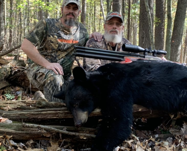 The First Black Bear In Maine With An Air Rifle