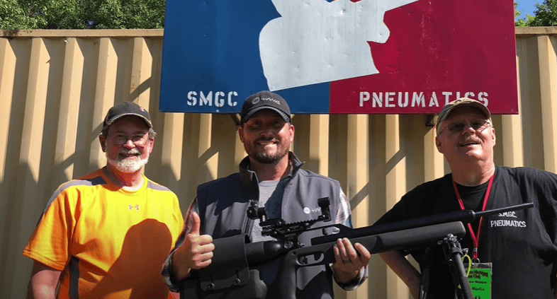 Guinness World Record Longest Air Rifle Shot