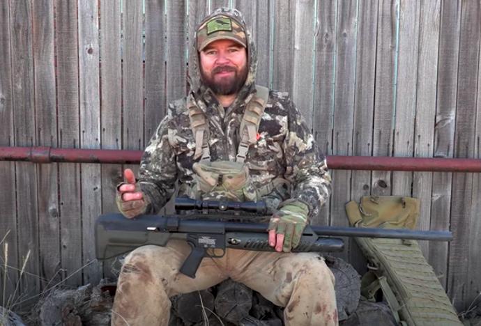 "50 cal Hammer 'n Texas Pt2 ""Big Pigs"": Real Air Gun Hunting"