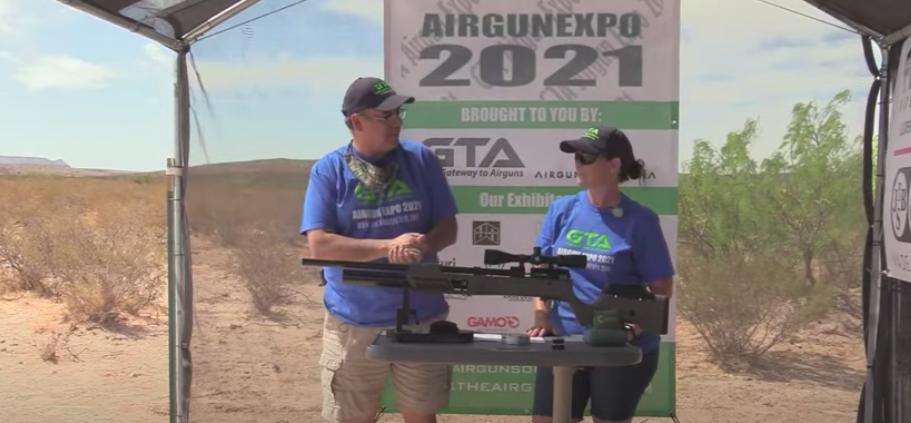 Airgun Expo 2021 – Umarex Gauntlet 2 – RANGE Demo of the .25 Gauntlet 2!