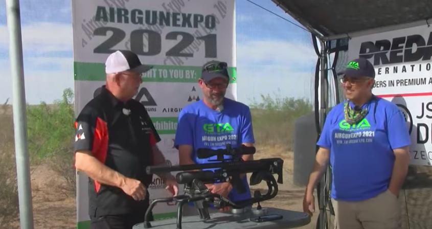 Airgun Expo 2021 – Airguns of Arizona – RANGE Demo of the LCS SK19